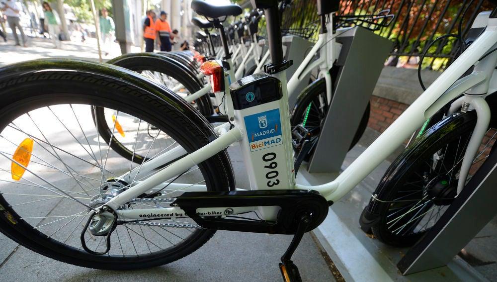 El servicio BiciMad de Madrid
