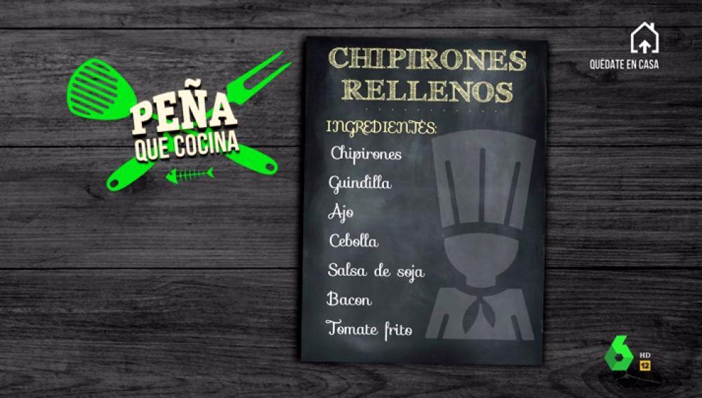 Aprende a cocinar con Javier Peña unos chipirones rellenos del modo más sencillo y exquisito