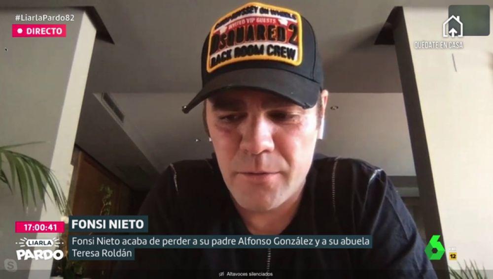 """Fonsi Nieto relata cómo vivió la muerte de su padre y de su abuela en plena crisis por el coronavirus: """"La situación me ha dado de lleno"""""""