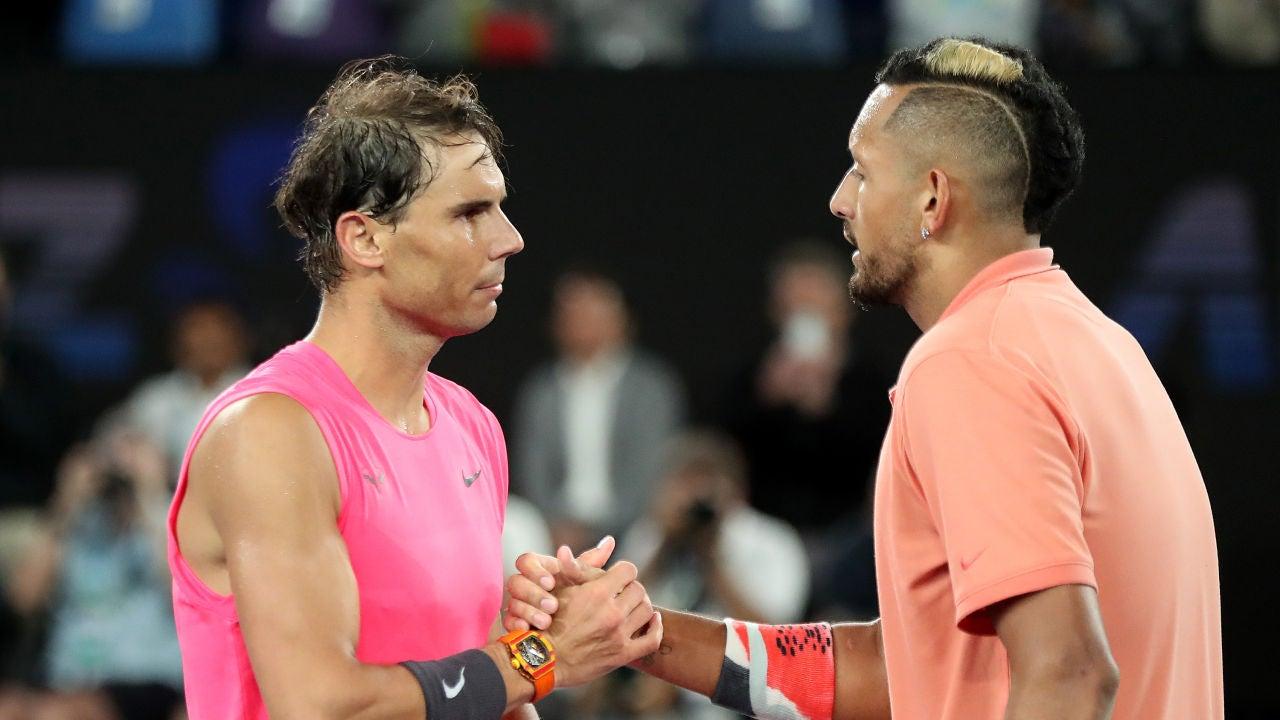 Rafa Nadal y Nick Kyrgios