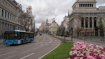 Madrid durante la cuarentena