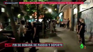 El primer fin de semana con salidas generalizadas se salda con 1.700 sanciones en Madrid