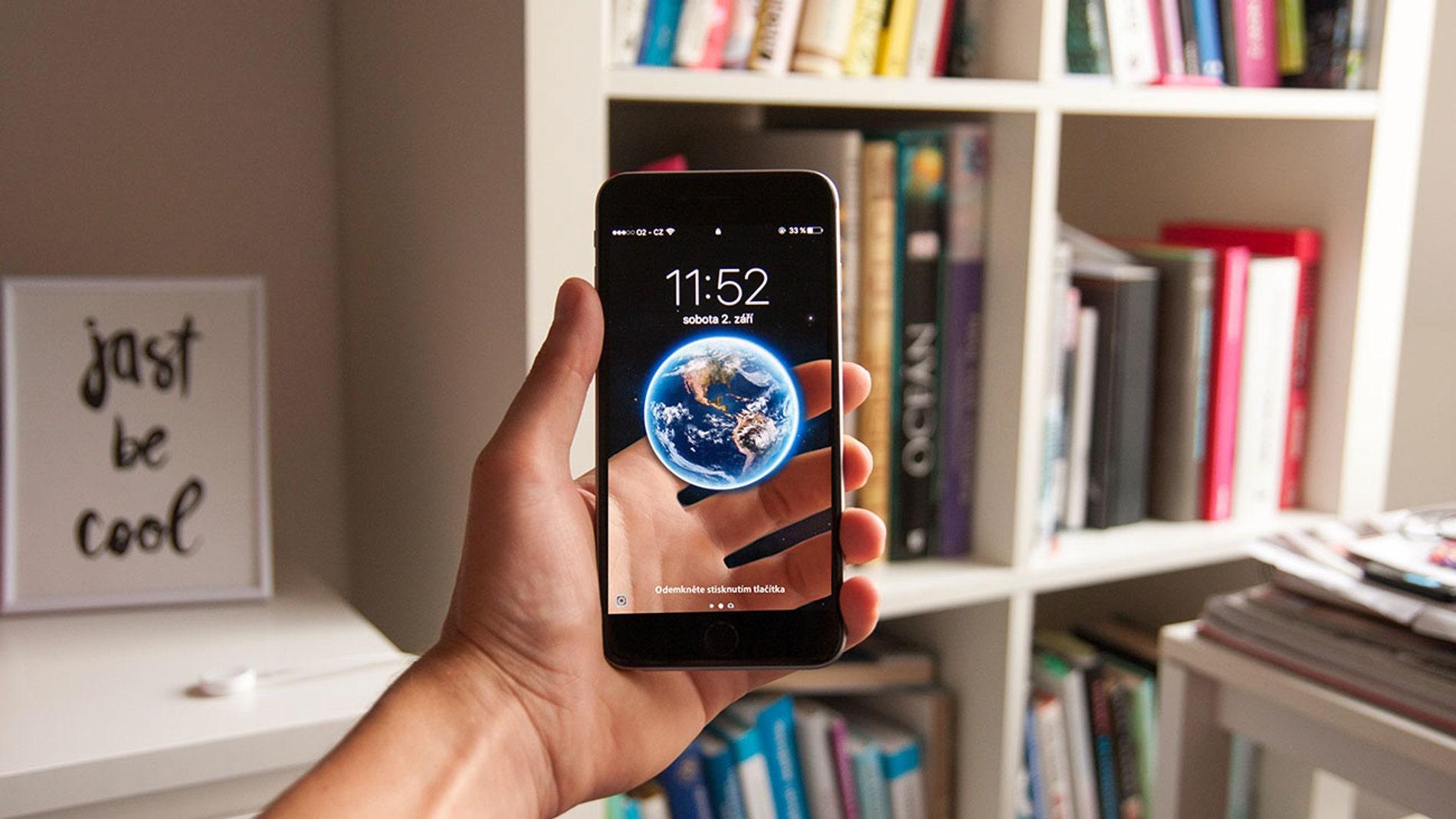 Realidad aumentada en un iPhone