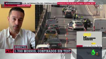 Malestar entre los Mossos por la ausencia de test y su exclusión de la paga por el coronavirus