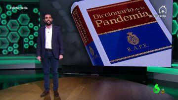 El Diccionario de la Pandemia o la recopilación de las palabras que nos hemos 'inventado' durante el confinamiento