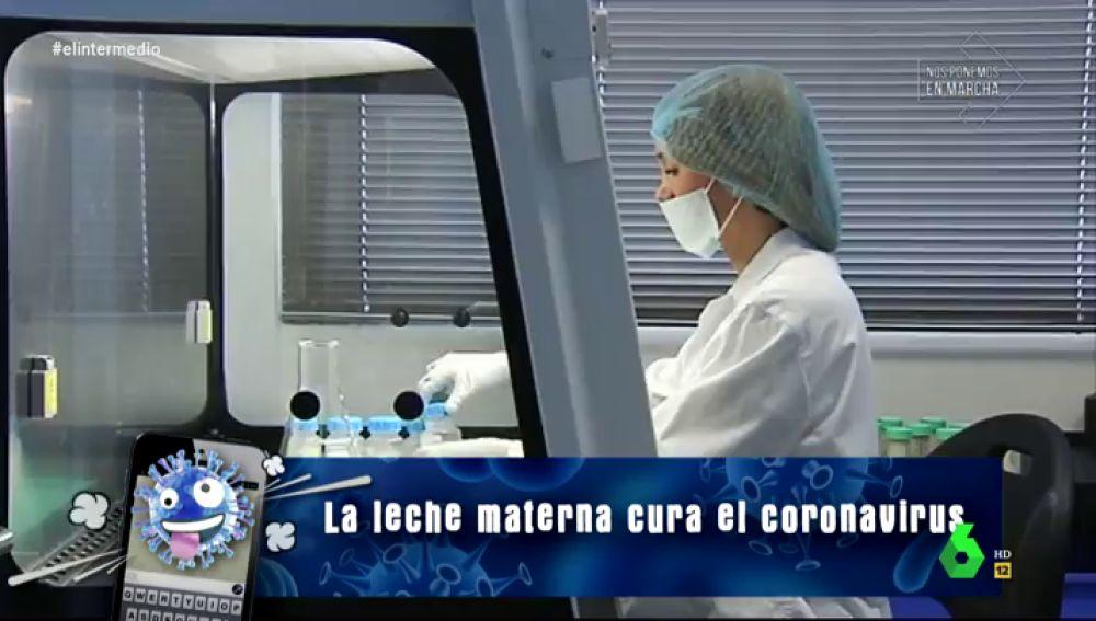 No, la leche materna de mujeres con coronavirus no cura la enfermedad