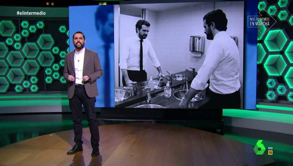 Dani Mateo y Pablo Casado