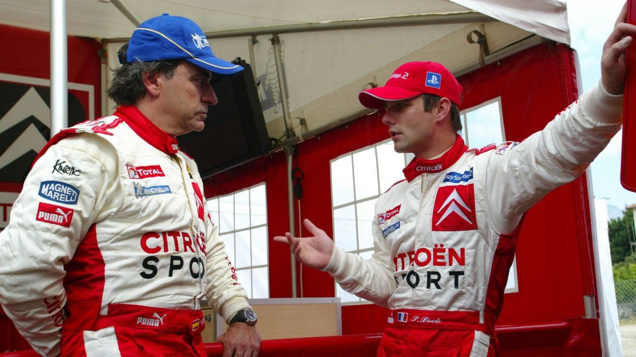 Carlos Sainz y Sebastian Loeb