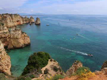 Espectacular panorámica de la costa del Algarve