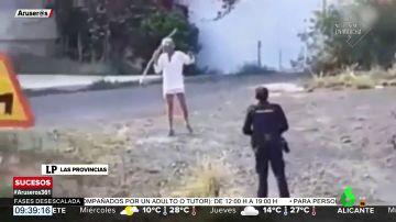 Detenido en las Palmas de Gran Canaria tras atacar a un agente con un cuchillo y una lanza
