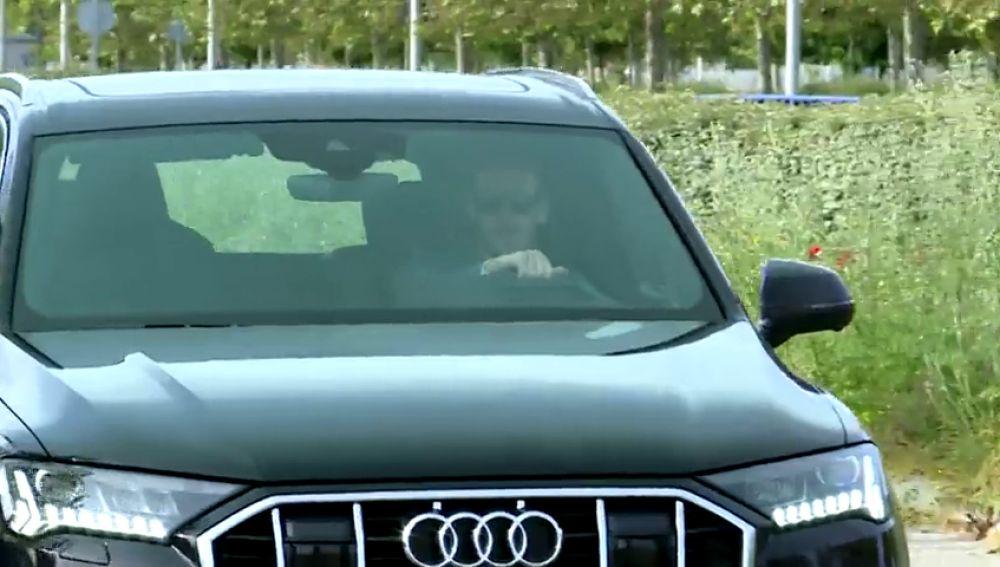 Imágenes exclusivas de 'Jugones': la llegada de los jugadores del Real Madrid a Valdebebas para someterse a los test