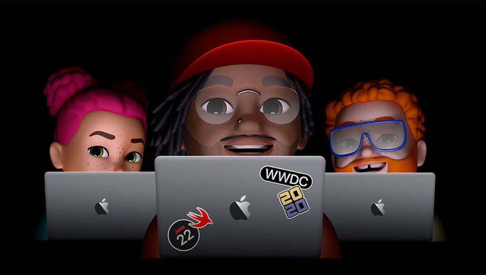 La imagen del WWDC 2020