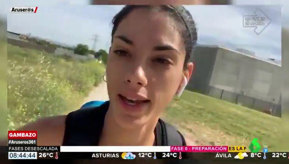 Gritos e insultos a la atleta Lidia Sánchez por salir a entrenar en Getafe