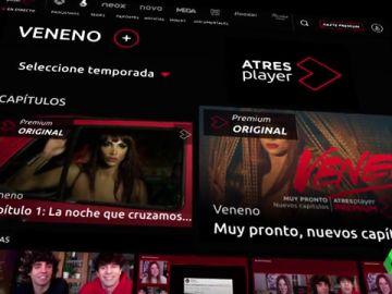 Atresplayer Premium quintuplica sus usuarios y alcanza los 250.000 suscriptores