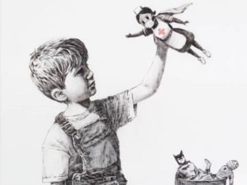 La nueva obra de Banksy