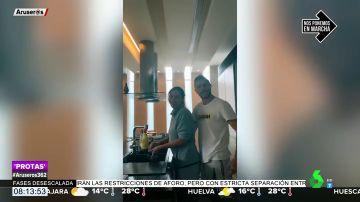 Joaquín arrasa con su primer vídeo en TikTok con su mujer y 'David Bisbal'