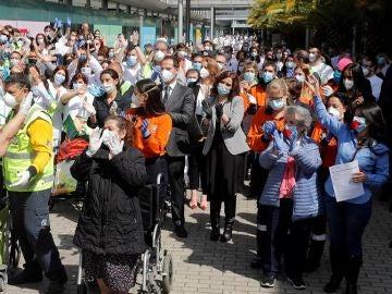 Imagen de la celebración del cierre de Ifema