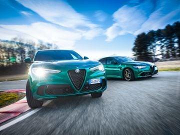 Alfa Romeo Giulia y Stelvio Quadrifoglio