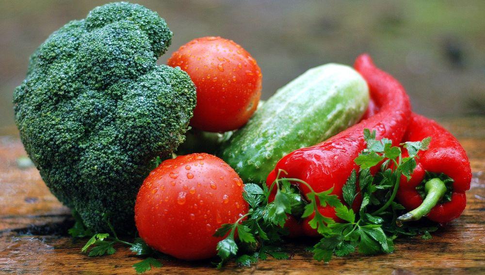 Foto de unas verduras.
