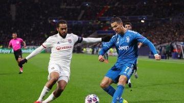 Cristiano, ante el Olympique de Lyon