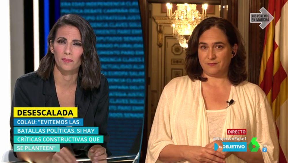 """Ada Colau, sobre el 'concierto de los balcones': """"Hubo polémica, lo suspendimos y no se gastó dinero público"""""""