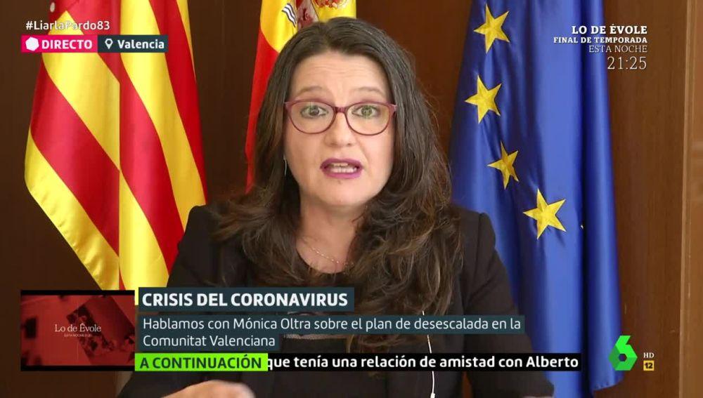 Mónica Oltra, vicepresidenta de la Generalitat de Valencia