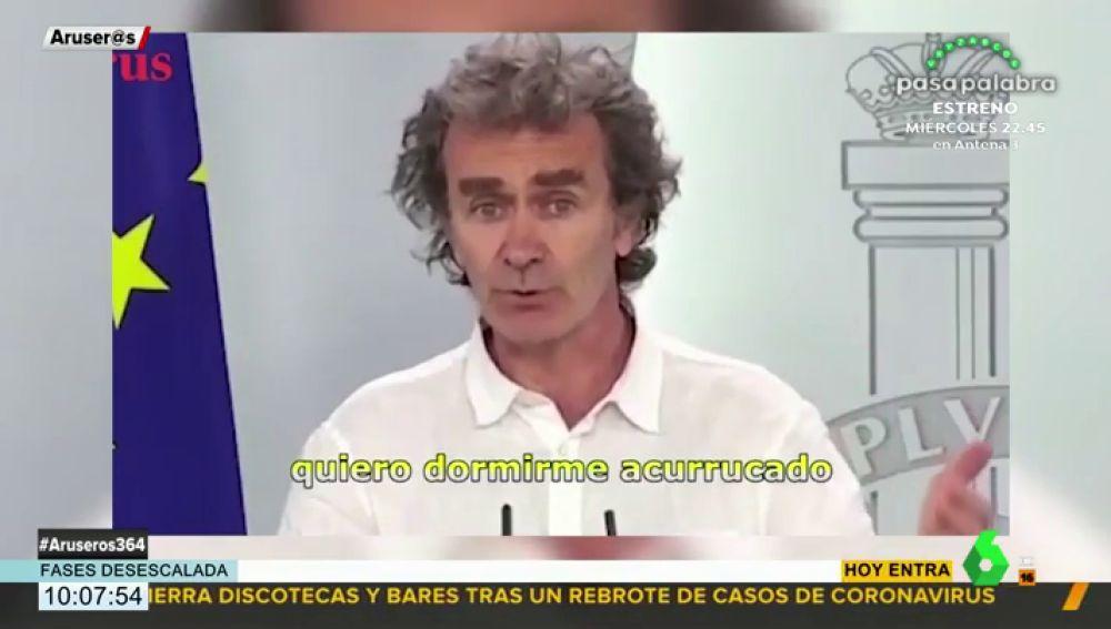 'Se te quiere, Fer', la declaración de amor a Fernando Simón hecha canción
