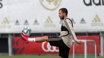Eden Hazard, atacante del Real Madrid