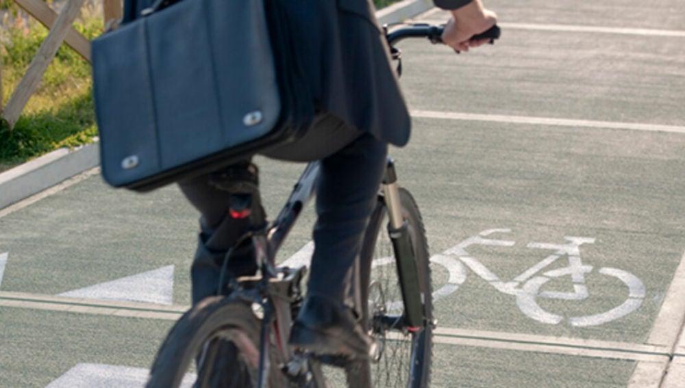 Bicicleta por la ciudad