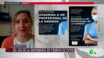 """El reproche de la enfermería madrileña a Ayuso: """"Hay falta de material y sigue sin entenderlo"""""""