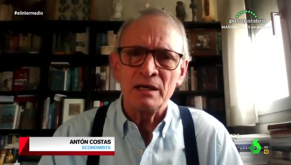 Antón Costas, economista, en El Intermedio.