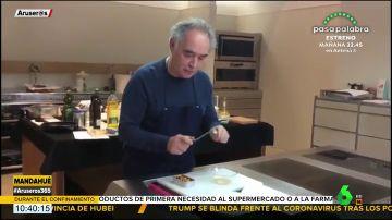 La sorprendente receta de Ferran Adrià hecha con una lata de mejillones que te dejará en shock