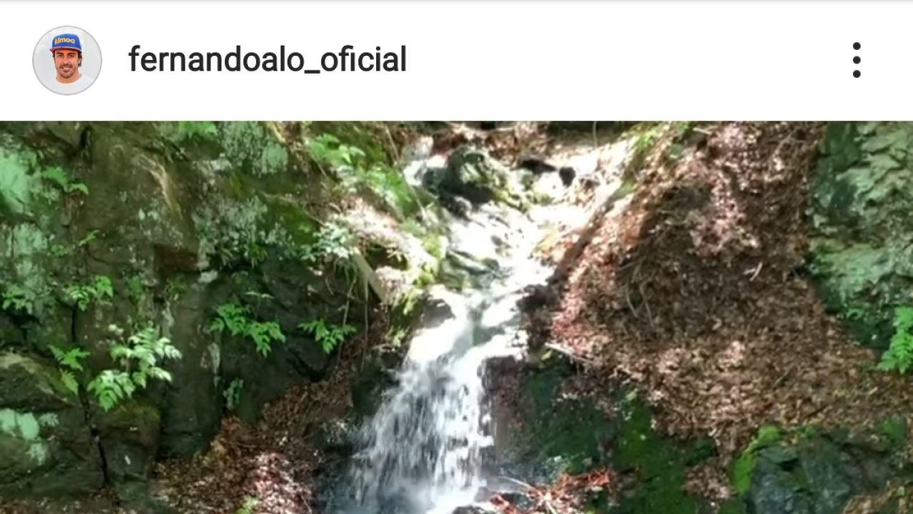 Imagen del Instagram de Fernando Alonso