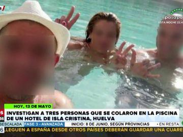 Se cuelan en la piscina de un hotel en pleno confinamiento y la Policía les pilla por haberlo publicado en sus redes sociales