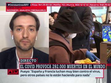 Tomás Pueyo, en ARV
