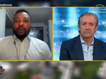 """Edwin Congo habla en 'El Chiringuito' tras su detención: """"Soy inocente, no tengo nada que ver"""""""