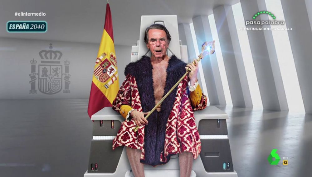 """Joaquín Reyes se convierte en Aznar para advertirnos sobre el coronavirus: """"En tiempo de rojos, crisis, enfermedad y palomos cojos"""""""