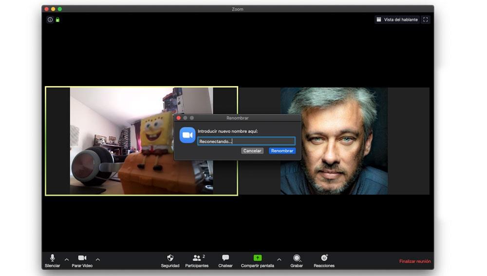 Cómo fingir problemas técnicos para abandonar un chat de vídeo en Zoom