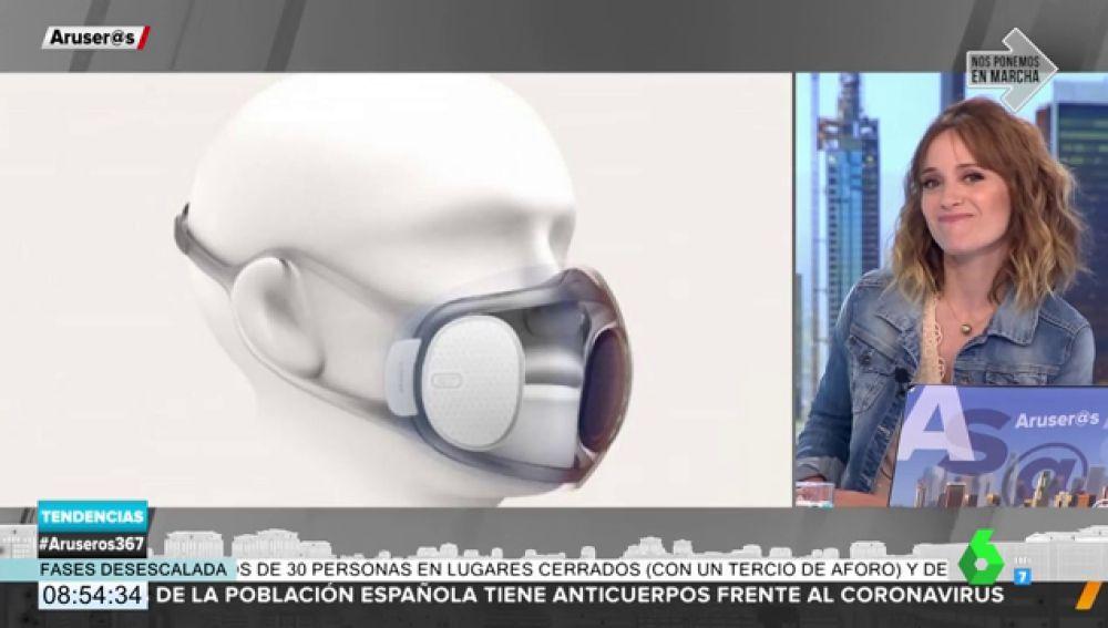 Xiaomi sorprende al mercado con una mascarilla de última tecnología que se desinfecta sola y tiene accesorios intercambiables