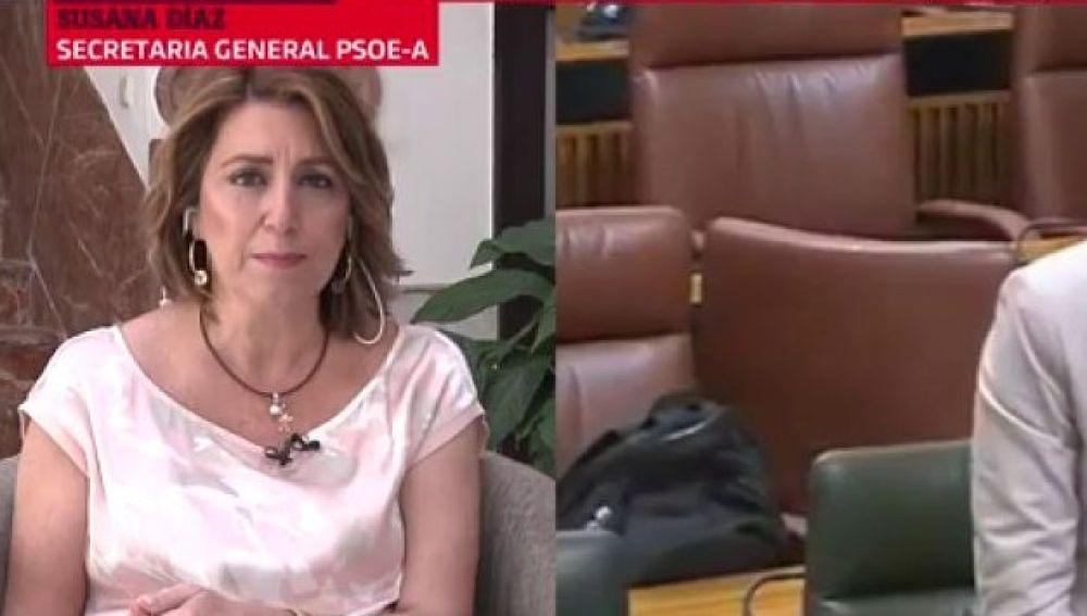 La secretaria general del PSOE Andalucía, Susana Díaz