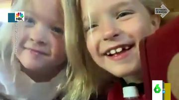 """El momento en el que las hijas de Jimmy Fallon le 'roban' la cámara en plena entrevista en directo: """"Los niños no respetan nada"""""""
