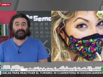 """El Sevilla advierte de """"los daños colaterales"""" de beber en pajita con mascarilla"""