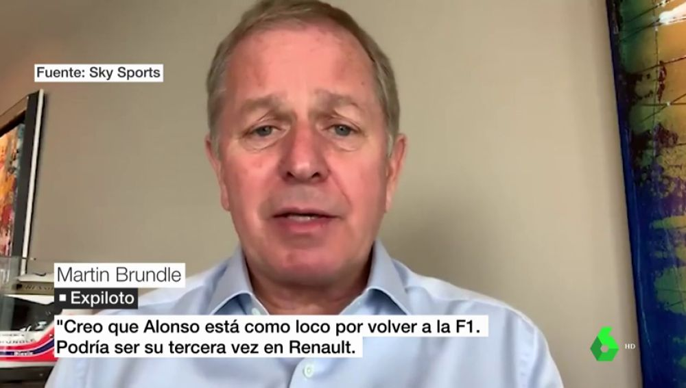 "Martin Brunde insiste: ""Creo que Fernando Alonso se muere de ganas de volver a la Fórmula 1"""