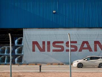 Aspecto de las instalaciones Nissan del centro de la Zona Franca de Barcelona