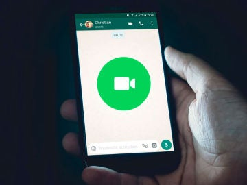 Videollamada en WhatsApp