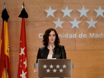 Rueda de prensa de Isabel Díaz Ayuso