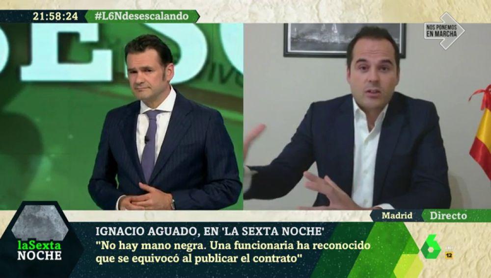 """Ignacio Aguado: """"A Podemos les da igual que pasemos de un modelo económico basado en salarios a uno basado en subsidios"""""""