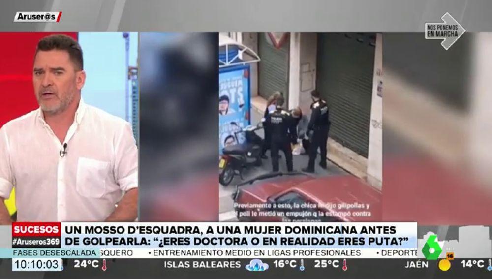 Una mujer dominicana denuncia a dos Mossos d'Esquadra por agresión