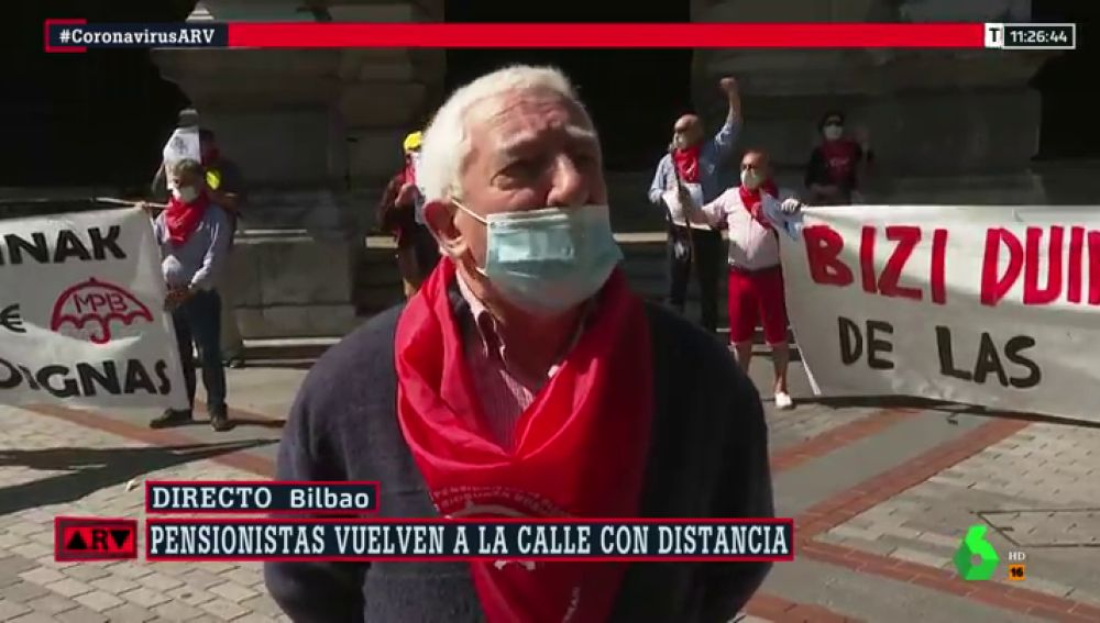 Los pensionistas vuelven a movilizarse para protestar por la situación de las residencias
