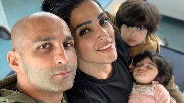 Una de las fotos compartidas en Instagram por la pareja iraní